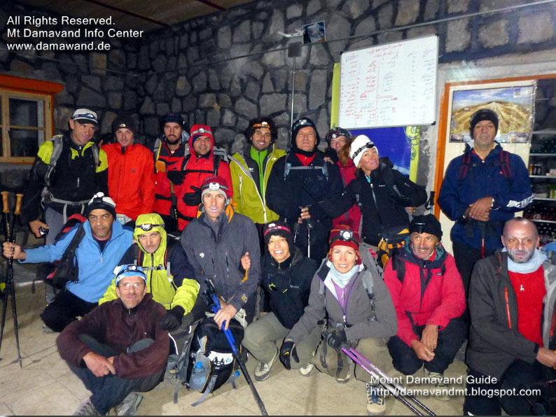 Climbing, Trekking Tour Damavand Iran