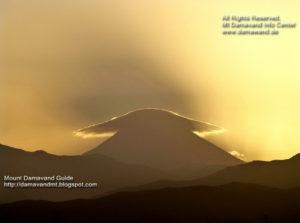 Mount Damavand Iran Sunrise