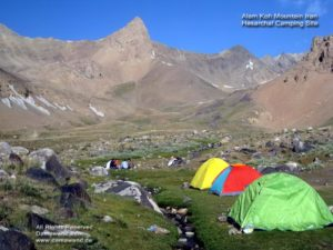Alam Kouh, Hesarchal Camping Site Photo by A. Soltani