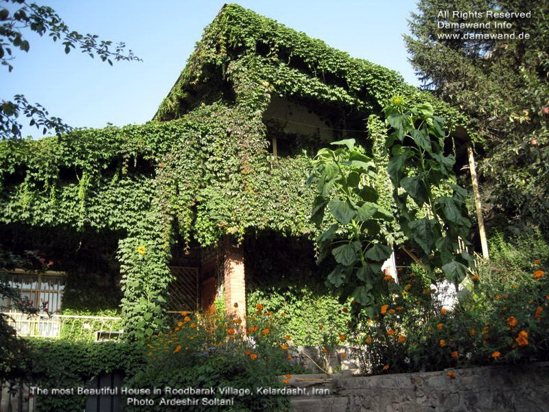 A Beautiful Local House in Roodbarak near Alamkouh, Iran