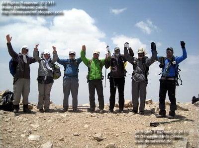 Dena Trekking Tour, Mount Dena Peak, Central Hovz Dall (Hovz daal markazi) Summit