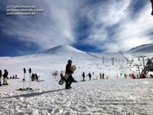 Tochal Ski Field, Mt Tochal Ski Resort Tehran, Iran,