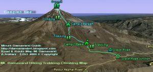 Hike Trek Climb Mount Damavand Iran