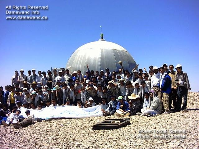 Mount Tochal Summit in summer season. Photo by Ardeshir Soltani