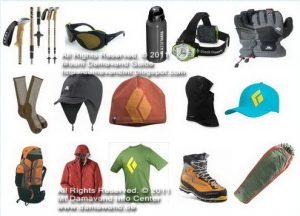 Damavand Trekking Gear List List