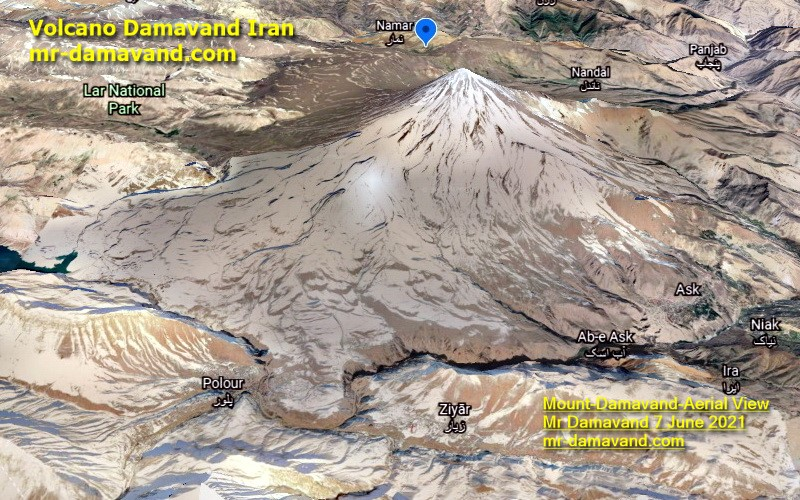 Trek Mount Damavand &  Alborz Range Iran