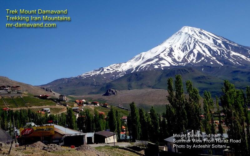 Trek Mount Damavand Iran, Trekking Alborz Mountains